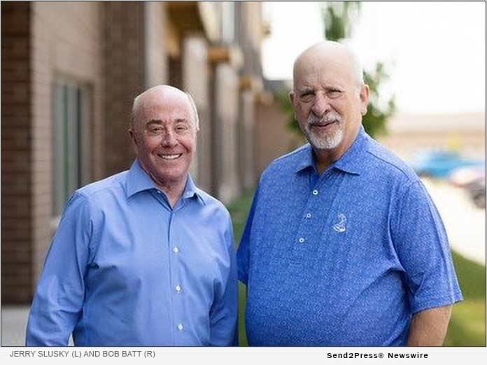 Jerry Slusky (L) and Bob Batt (R)