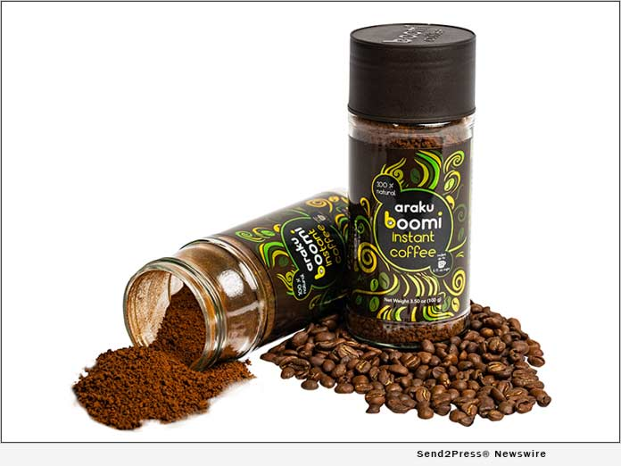Araku Boomi Instant Coffee Now Available in USA