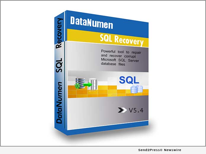 DataNumen SQL Recovery 5.4: Seamless Repair of Corrupt SQL Server Files