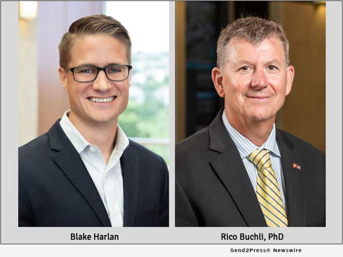 Blake Harlan and Rico Buchli, PhD