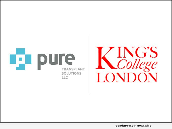 PURE Transplant and KINGS COLLEGE LONDON