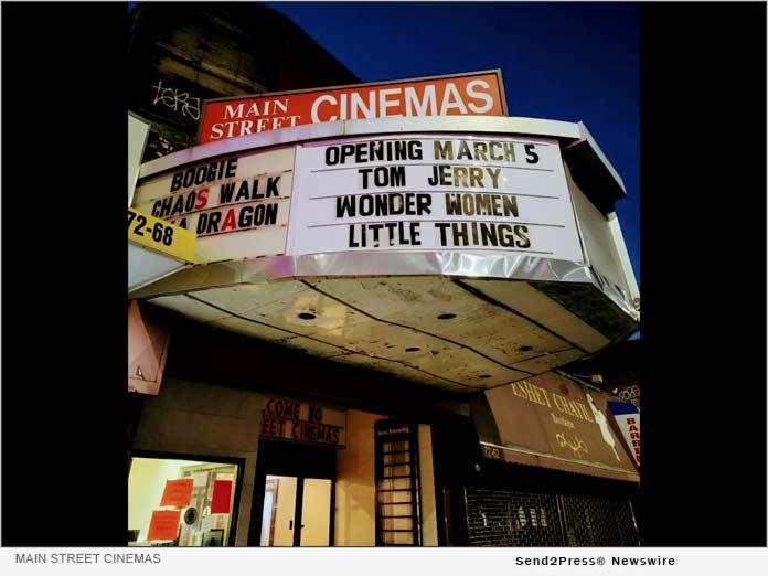 News from Main Street Cinemas