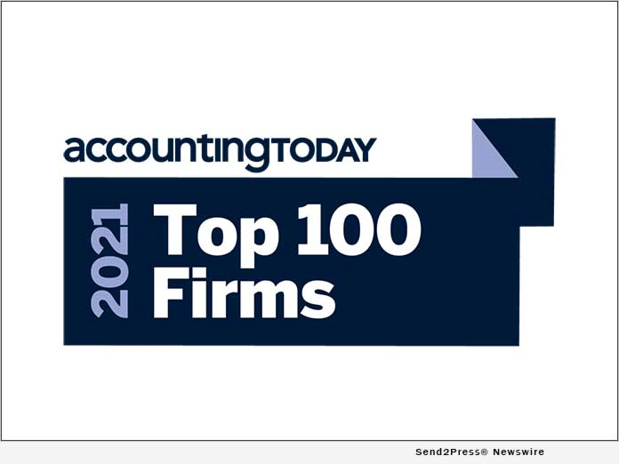 Newswire: Los Angeles-Based CPA Firm Receives High Praise from Accounting Today