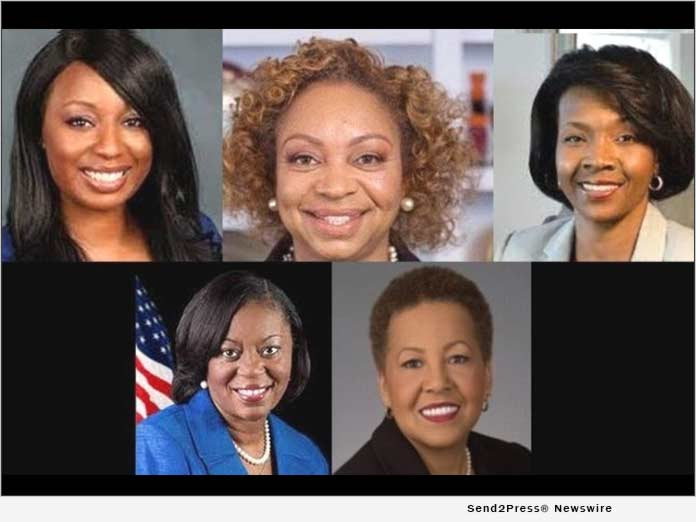 GA Black Women's Roundtable valiant women of the vote honorees