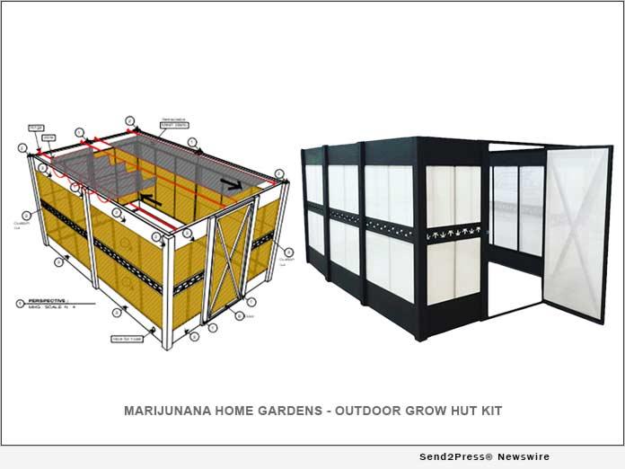 Marijunana Home Gardens Announces its Outdoor Grow Hut Kit
