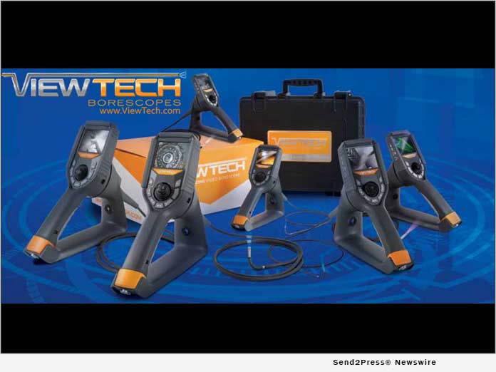 ViewTech Borescopes Referred Clients Seeking New Video Borescopes for Mining Equipment Maintenance and Orbital Weld Inspections