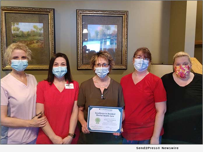 The Care Team at Borderview Rehabilitation and Living Center