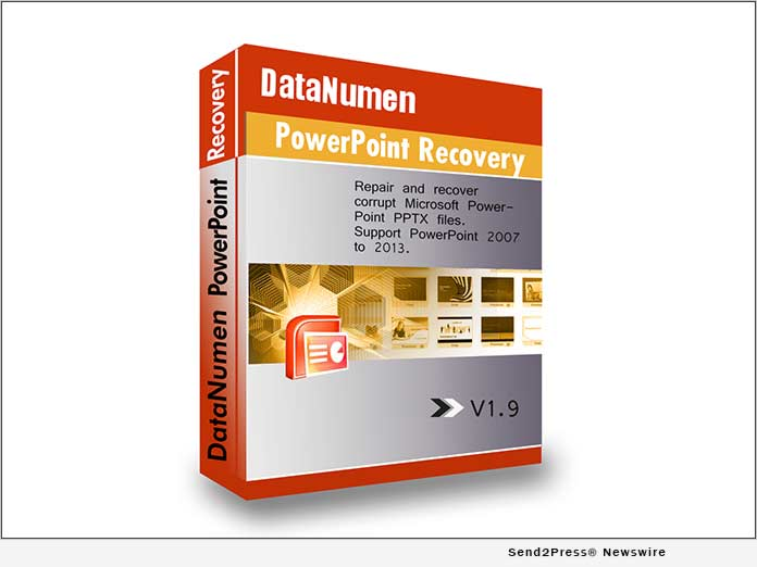 DataNumen PowerPoint Recovery 1.9: Full Repair of Corrupt Presentations