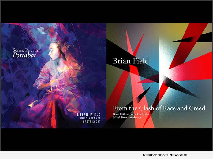 Olim Music is proud to announce the release of two tracks by award-winning composer Brian Field