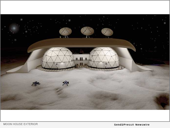 NFT-craze continues: the first NFT house on the Moon is up for sale for $100,000