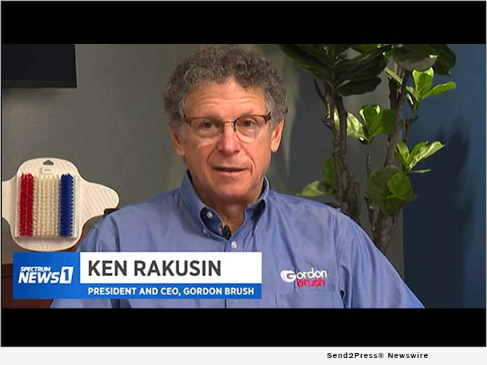 Ken Rakusin Grows Gordon Brush Mfg. Co. Inc. Into Major US Manufacturer of Industrial Brushes
