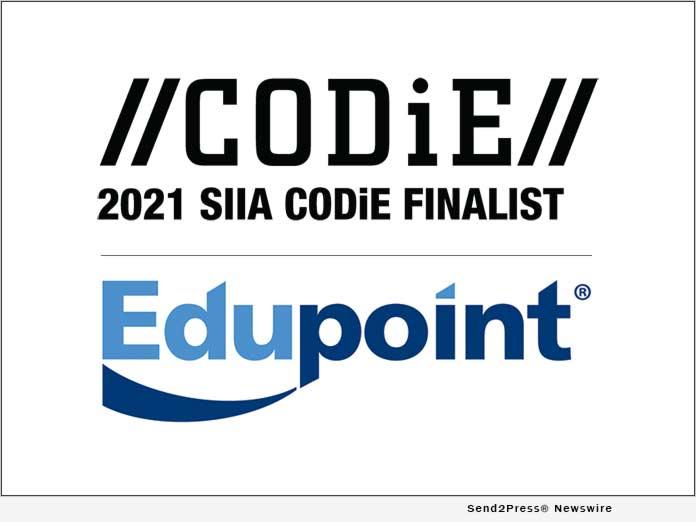 Edupoint CODiE 2021 Finalist