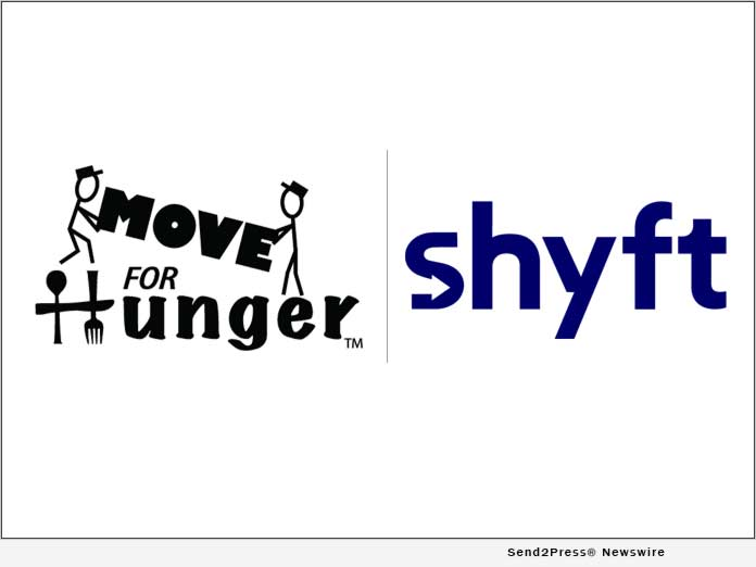 Move For Hunger and shyft