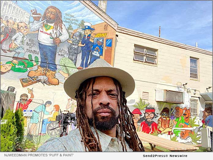 Ed 'NJWeedman' Forchion promotes Puff and Paint