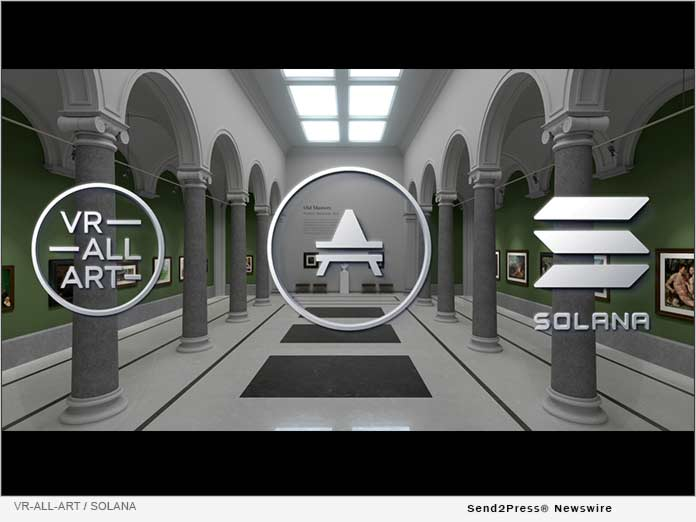 VR-All-Art and Solana