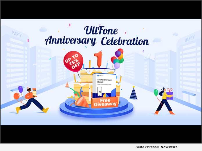UltFone Celebrates One-Year Anniversary