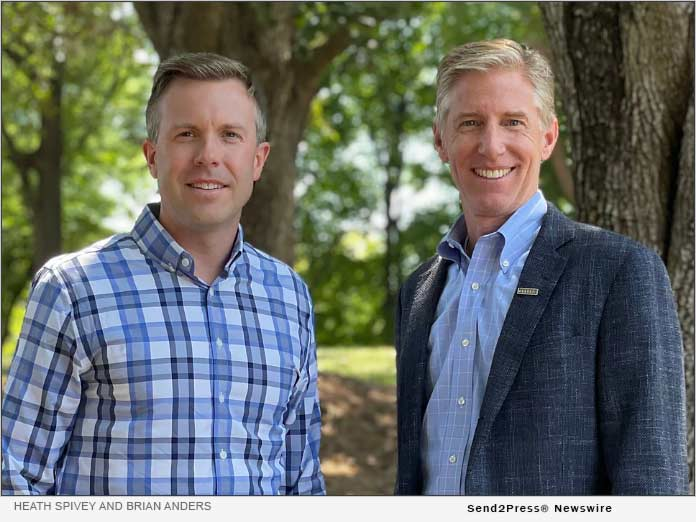 Heath Spivey (left) and Brian Anders (right)