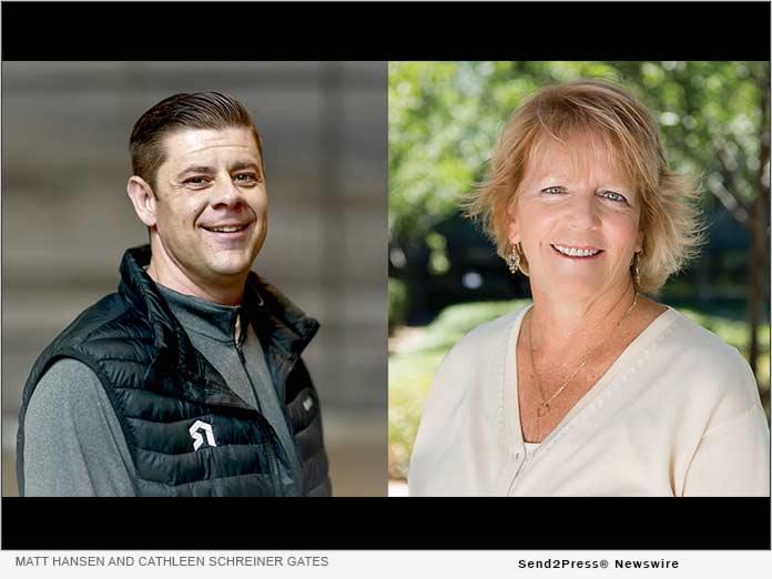 Matt Hansen and Cathleen Schreiner Gates