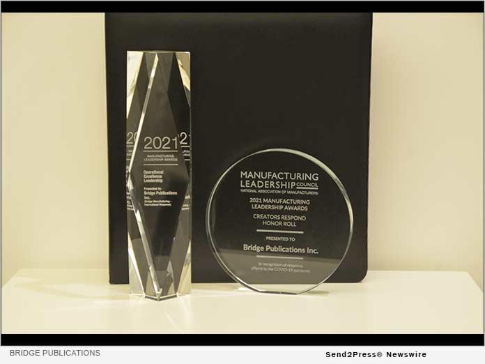 Bridge Publications manufacturing awards