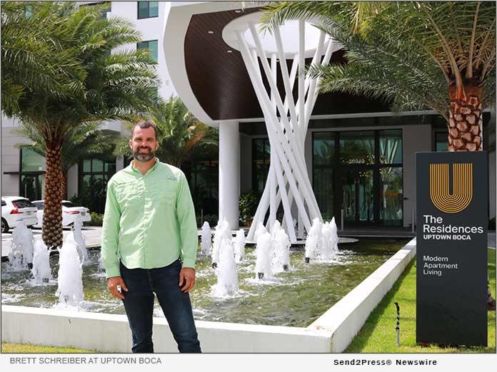 Brett Schreiber at Uptown Boca