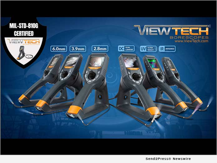 ViewTech Borescopes Rugged Visual Inspection Tools