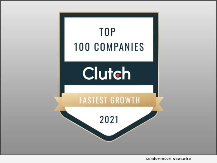 Clutch Top 100 Companies 2021
