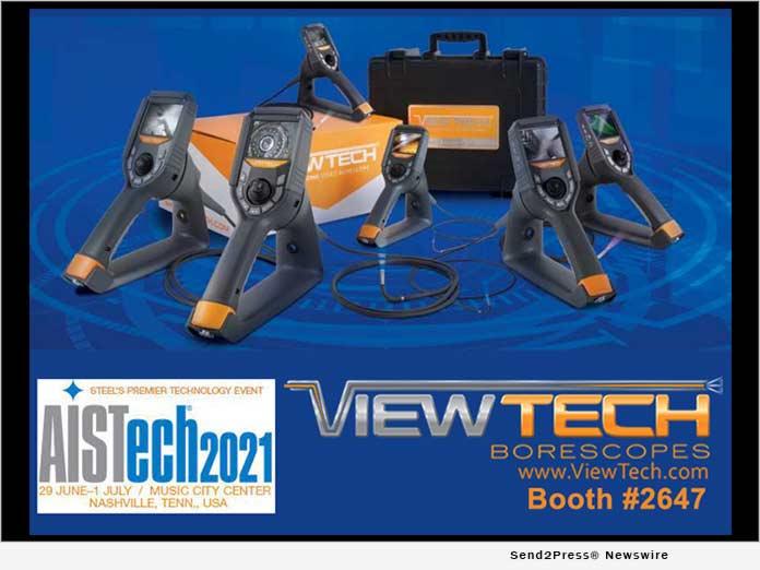 AISTech 2021 - Viewtech Borescopes