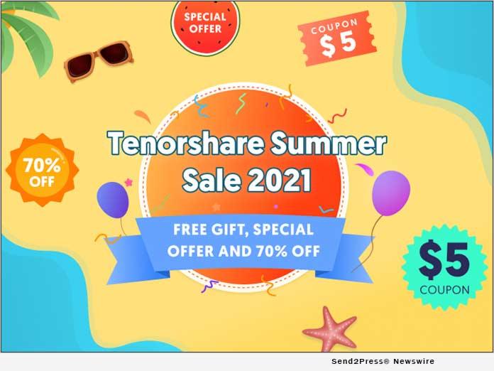 Tenorshare Summer 2021