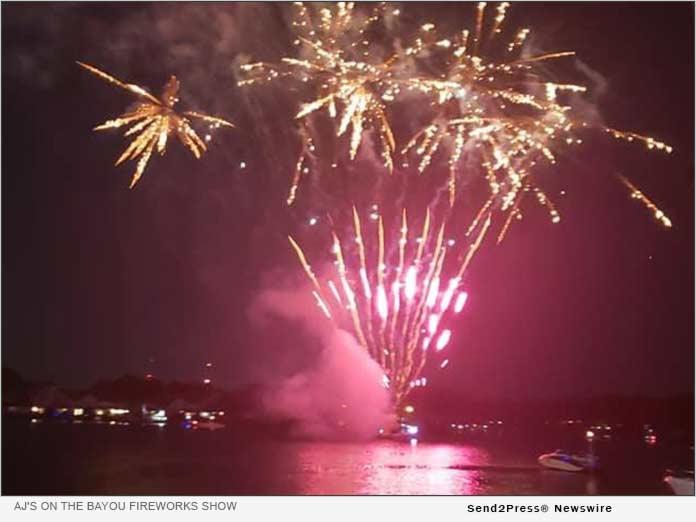 AJ's on the Bayou Fireworks