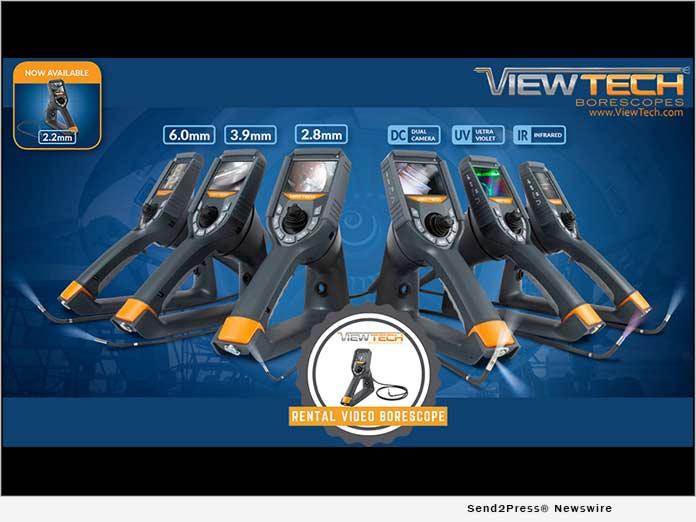 ViewTech Borescopes Lineup