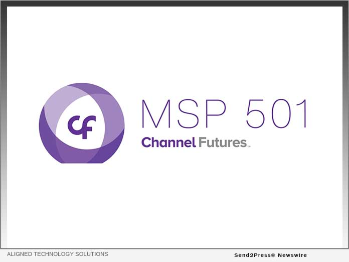 Aligned Technology Solutions Ranked on Channel Futures MSP 501