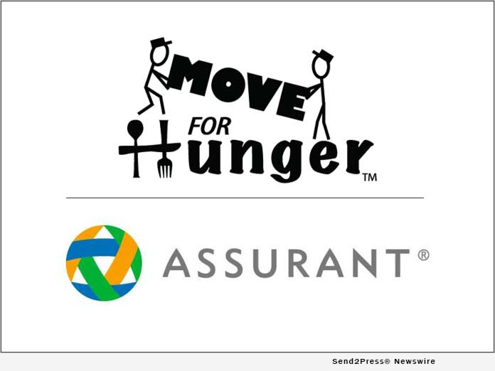 Move For Hunger and ASSURANT