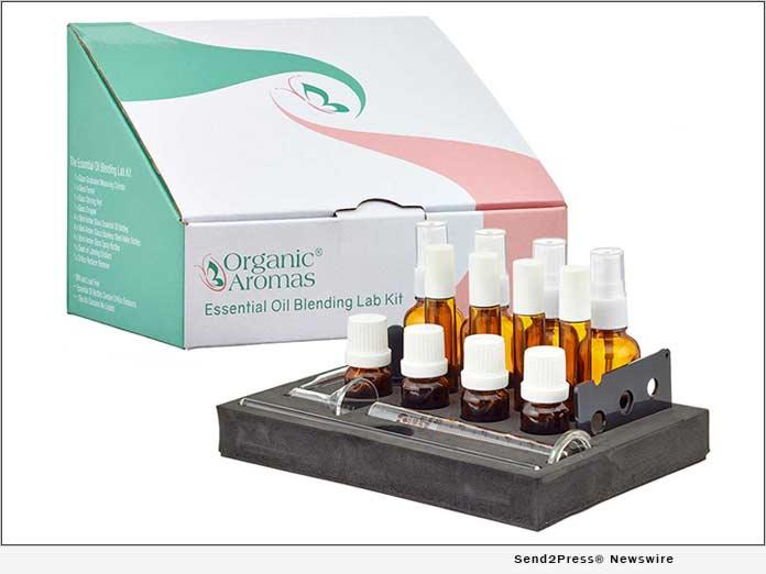 ORGANIC AROMAS Essential Oils Blending Lab