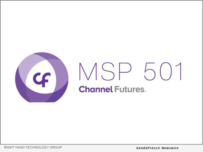 Right Hand Technology Group Ranked on Channel Futures MSP 501