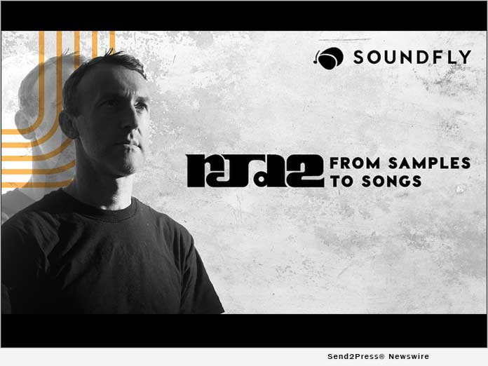 Sampling innovator RJD2 and online music school Soundfly team up to release transformative new course on sampling and arranging