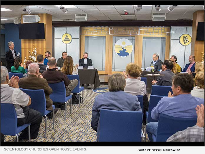 Scientology Churches hold open house events and forums