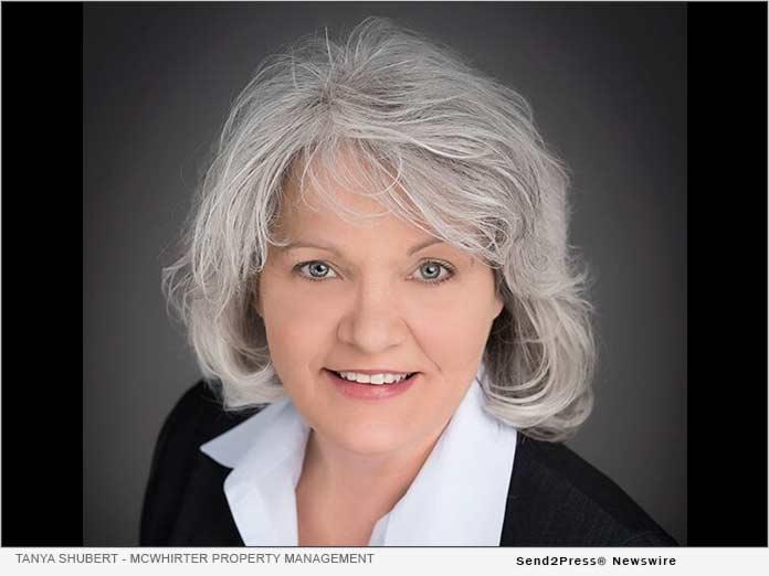 Tanya Shubert of McWhirter Property Management