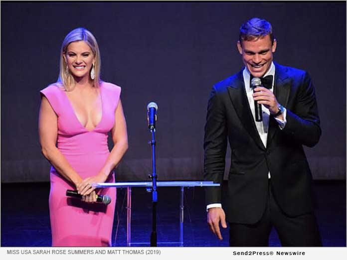 Miss USA Sarah Rose Summers and Matt Thomas Hosting 2019 Journey Awards
