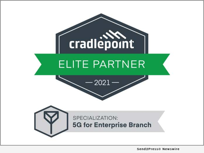 Connected Solutions Group Achieves Cradlepoint 5G for Enterprise Branch Specialization