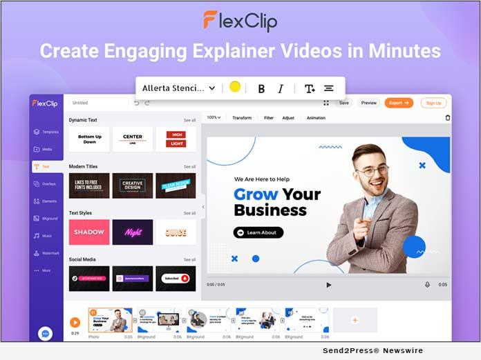 FlexClip - Create Explainer Videos