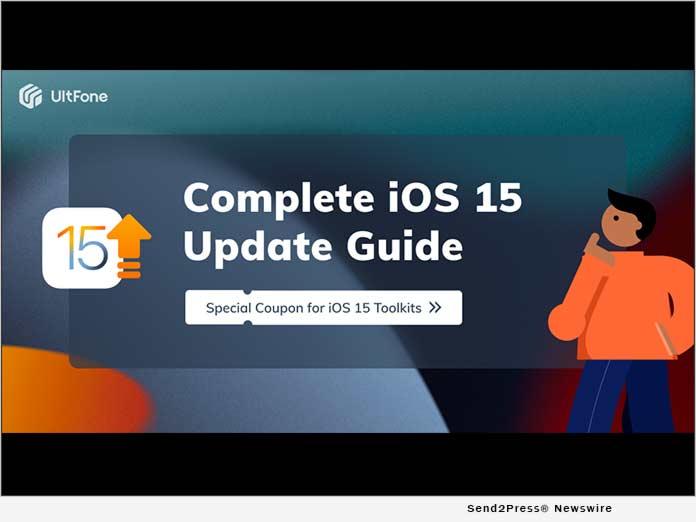 UltFone iOS 15 Update Guide