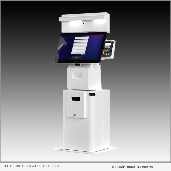 OLEA KIOSKS: The Austin Height Adjustable Kiosk