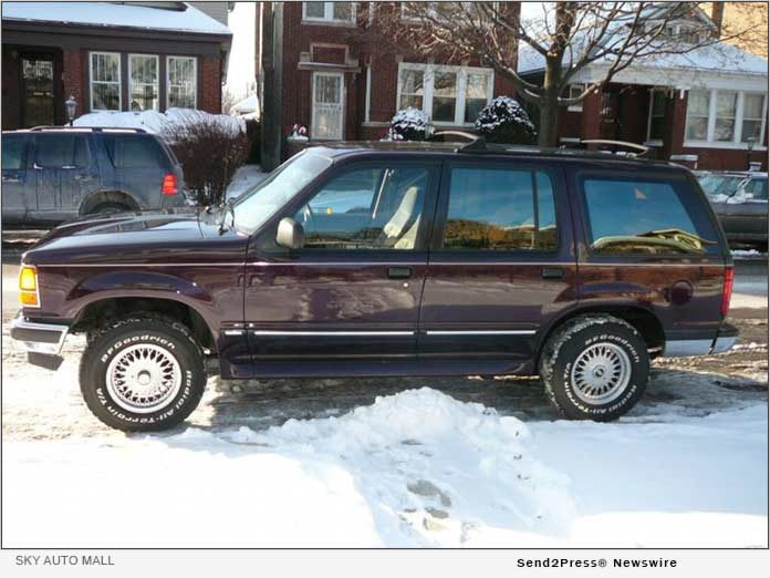 First Car ever sold by Prestige Motor Works out of the 8959 Hanslik Court, Naperville Location. A 1994 Ford Explorer.