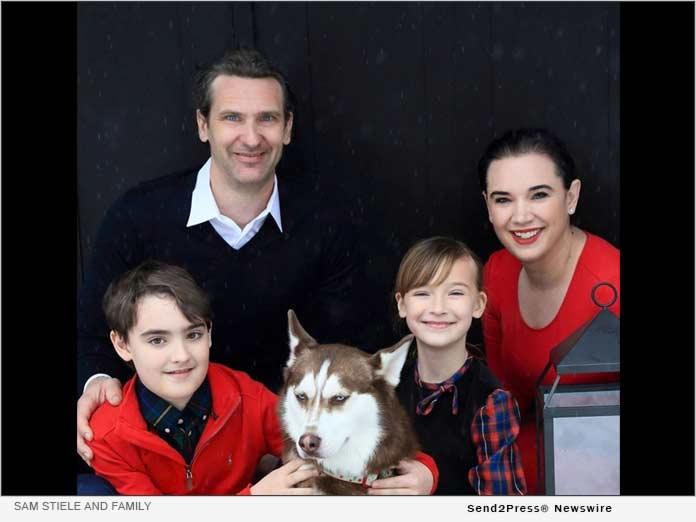 Sam Stiele and family