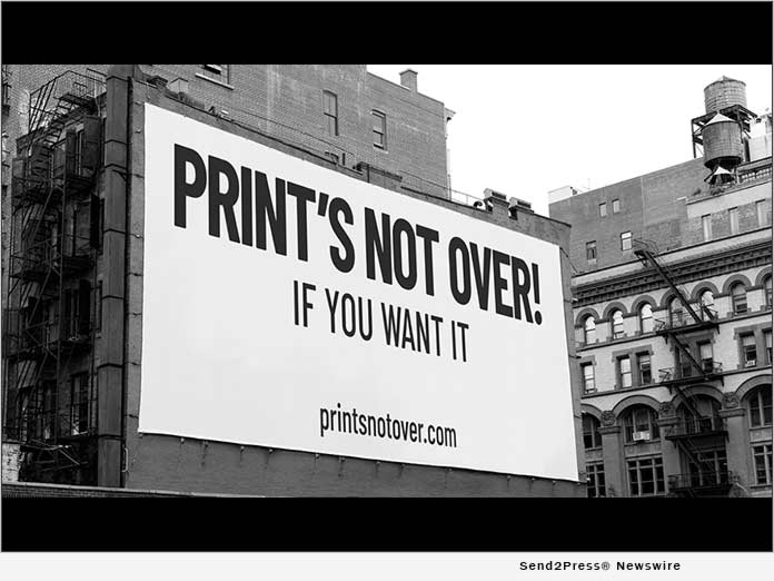 Print's Not Over