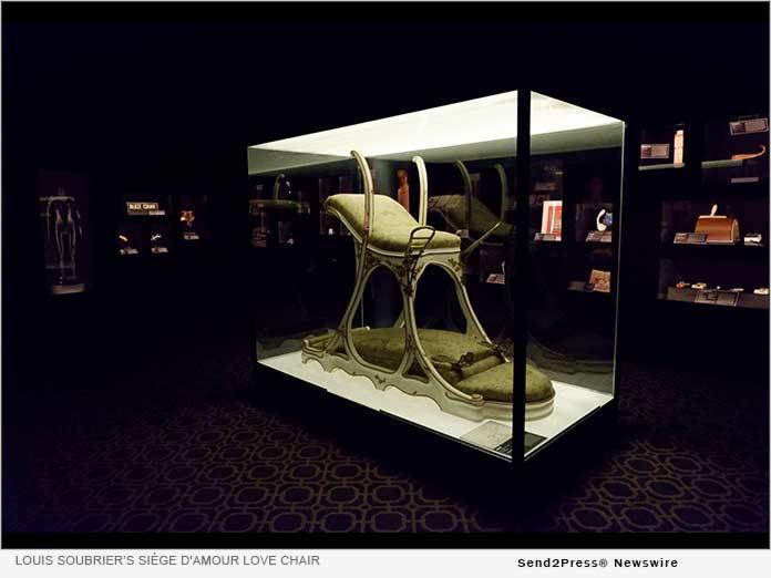 Louis Soubrier's Siege D'Amour Love Chair