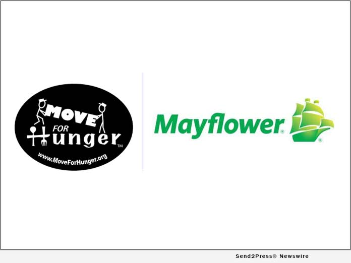 Move For Hunger and Mayflower