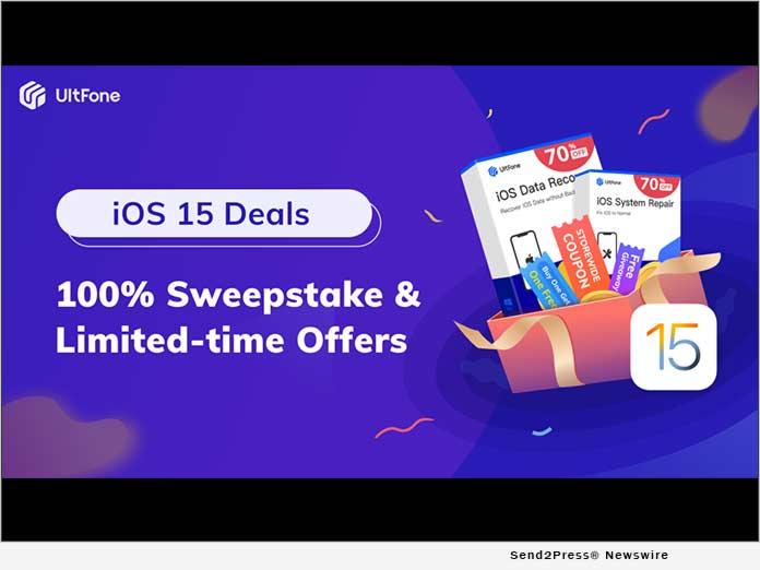 UltFone iOS 15 Deals