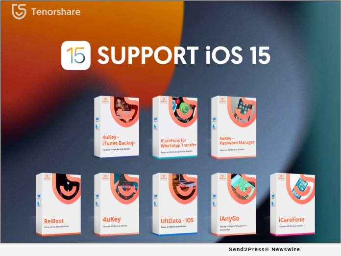 Tenorshare supports iOS 15