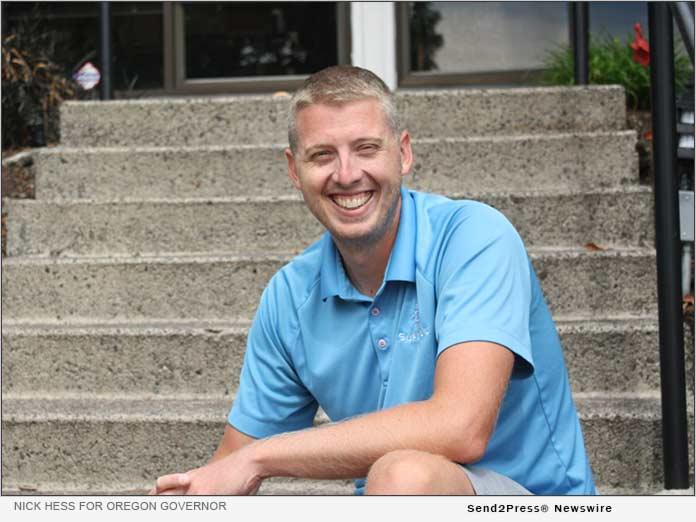 Nick Hess Announces Run for Oregon Governor